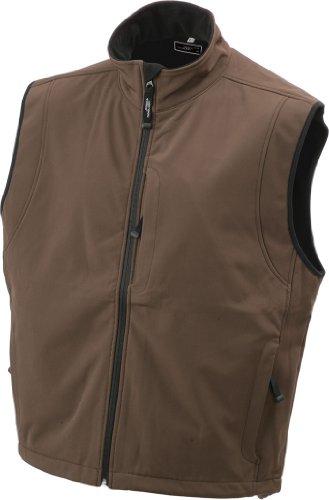 Softshell Membrana Tessuto In Men's Tre Vest Funzionale Brown A Gilé Strati F87gqg