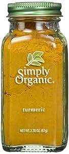 Simply Organic, Tumeric, 2.38 oz