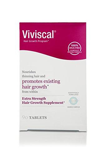 Viviscal Extra Strength Hair Nutrient Tablets, 90-Tablets by Viviscal