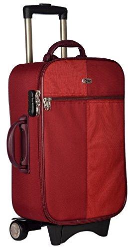 Trekker Polyester Matty 50 cms Red Softsided Cabin Bag  TTB BLAZER20 RED