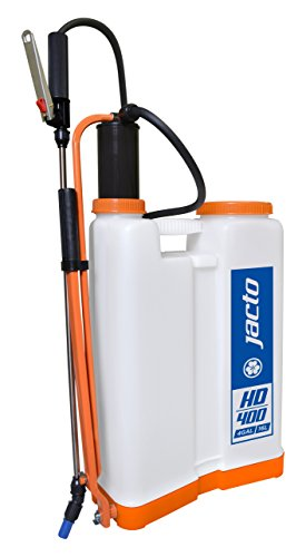 Pump Poly Piston Gallon 4 (Jacto HD400 W/O Backpack Sprayer, Translucent White)