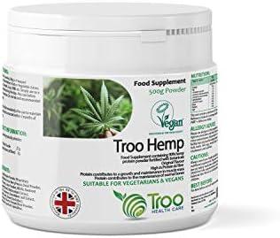 Troo Health Care Troo Hemp Hemp Protein Pulver 500g