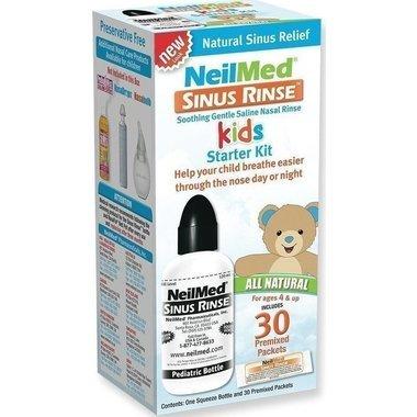 (Sinus Rinse Pediatric Starter Kit 1 Kit, Pack of 2)