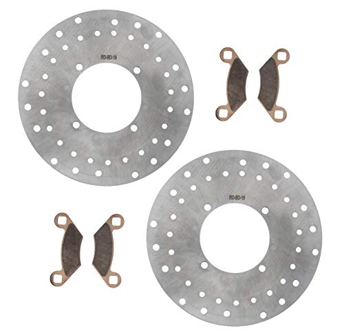 Brake Rotors & Brake Pads for Polaris 800 Sportsman 2005-07 Front by Race-Driven
