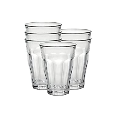 Duralex Made In France Picardie 12 oz. Clear Tumbler, Set of 6