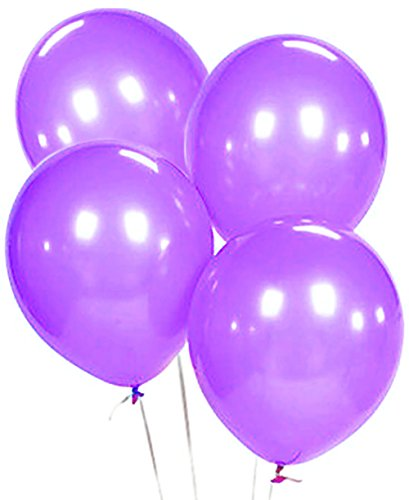 Custom, Fun & Cool {Big Large Size 12'' Inch} 1500 Bulk Pack of Helium & Air Latex Rubber Balloons w/ Modern Simple Celebration Party Special Event Decor Design [In Bright Purple] by mySimple Products