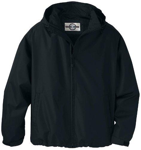 Mens Techno Lite Jacket - North End Big Mens Techno Lite Lightweight Jacket (Black 4X-T)