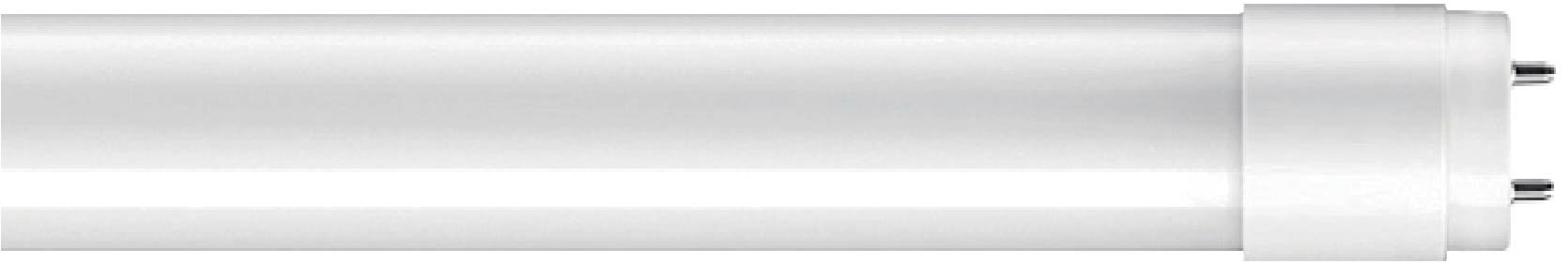Goodlite G-83409 8W LED T8, 24'' T12 & T8 Fluorescent Replacement. Universal Direct OR Bypass, One or two side power, Frosted, Daylight 6500k