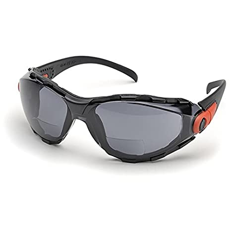 Elvex Rx-Gg-40C-Af-1.5 Elvex Rx Reader Eyewear With Black Frame And Clear