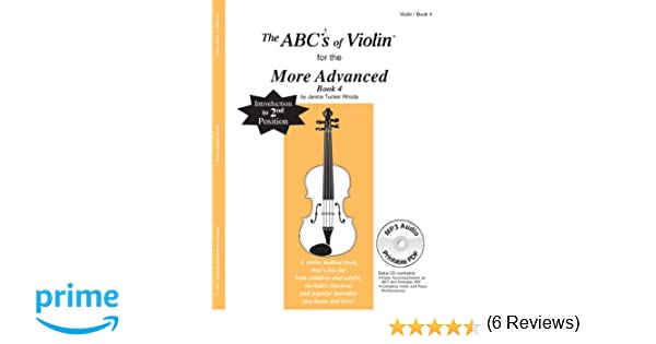 Amazon.com: The ABCs Of Violin for the More Advanced, Book 4 (Book ...