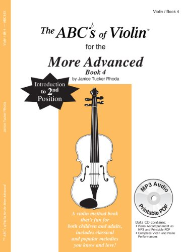 The ABCs Of Violin for the More Advanced, Book 4 (Book & CD)