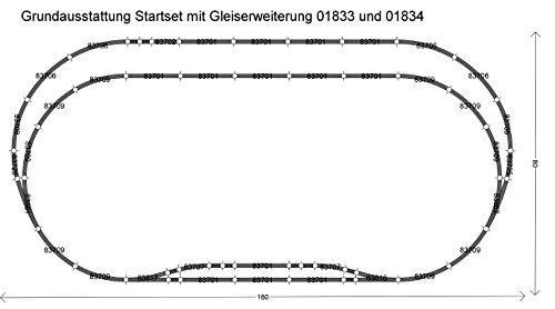 Tillig ティリッヒ 01834 TT 1/120 標準線路