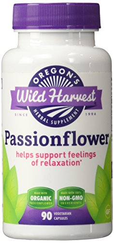 Oregons Wild Harvest Passionflower Capsules product image