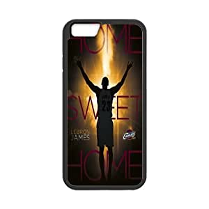Onshop Custom Cleveland Cavaliers - Lebron James 14 Pattern Phone Case Laser Technology for iPhone 6 4.7 Inch