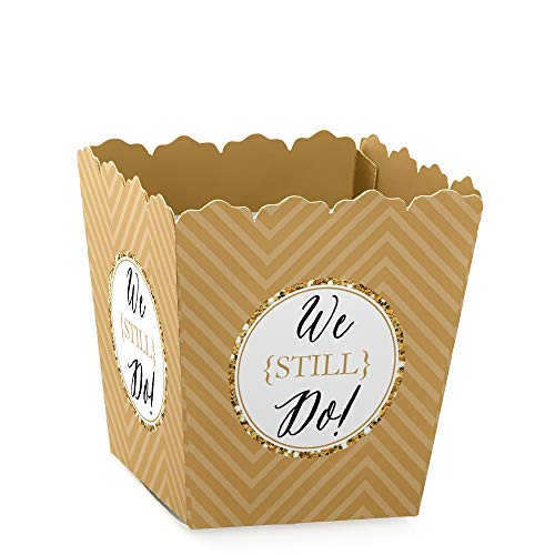 - We Still Do - Party Mini Favor Boxes - 50th Wedding Anniversary Party Treat Candy Boxes - Set of 12