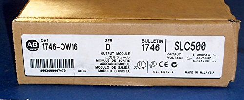 AB SLC-500 MODULE 1746-OW16 SER D USED