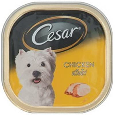 Cesar Dog Food Chicken in Meaty Juices for Small Dog 100 Grams