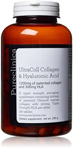 1500mg UltraColl Collagen (1200mg) and Hyaluronic Acid (300mg) x 180 tablets - 3 months supply - SKU: UCHL3