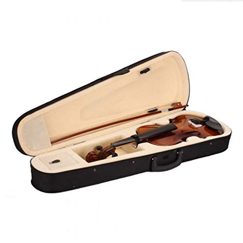 Teekland 4/4 Acoustic Violin With Case Bow Rosin for Violin Beginner- Natural
