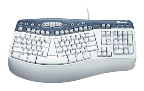 Picture of a Microsoft Natural Multimedia Keyboard