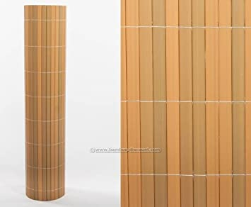 Amazon De Sichtschutz Kunststoff Sylt Mit 140 X 200cm Teak