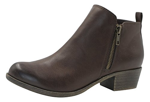 Dunes Women's Dolly Boots Brown