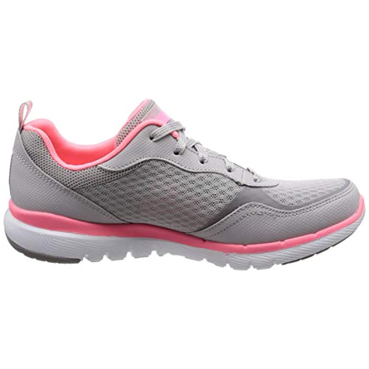 Skechers Flex Appeal 3 0-go Forward Sneaker Donna Grigio 36 5 Eu