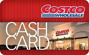 Costco Cash Card 25