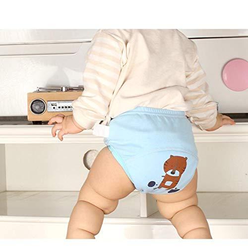 80# BIGBOBA Baby T/öpfchen Hose Baumwolle Training Unterw/äsche Cartoon Auto Muster Kinder Windel Hose auf der Toilette Training T/öpfchen f/ür 1-6 Jahre alt