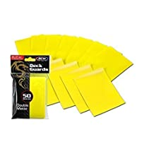 600 Yellow Double Matte Deck Guard Card Sleeves - Ultra Protectors - MTG - YU-GI-OH! by BCW