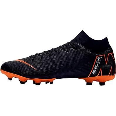 best loved feb29 0dc65 Nike Men's Mercurial Superfly Vi Academy Mg Footbal Shoes, Black  (Black/Total Orange-W 081), 6 UK