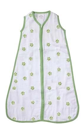 Aden by aden+ anais 100% Cotton Muslin Sleeping Bag, Life's A Hoot, Large