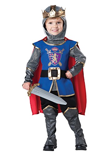 InCharacter Baby Boy's Knight Costume, Blue/Grey, 4T ()