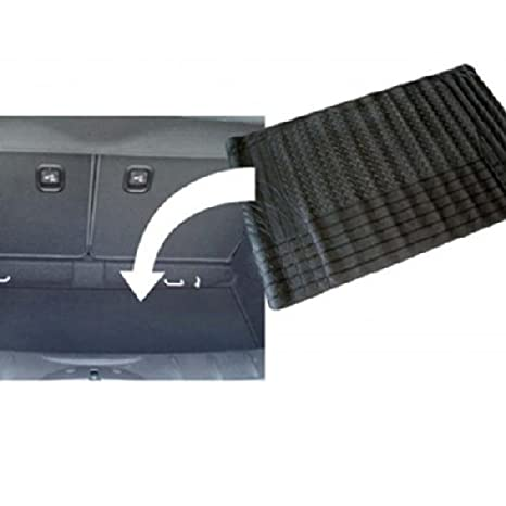 WheelsNBits/® Universal Rubber Car SUV Hatchback Saloon Boot Trunk Protection Mat Liner Non Slip