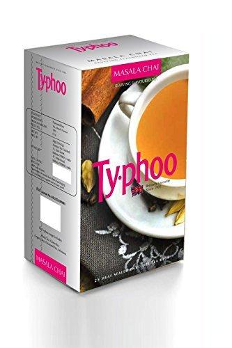 - Typhoo Flavoured Masala Tea, 25 Tea Bags