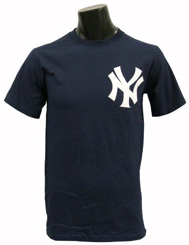 New York Yankee Shirt - Majestic New York Yankees T-Shirt Style Jersey (Adult X-Large)