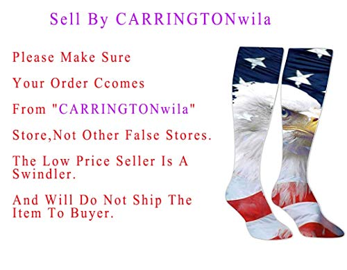 (Knee High Stockings Cool Eagles American Long Socks Sports Athletic for Man and)