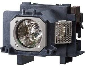 Replacement Lamp with Housing for PANASONIC PT-VX600U with Genuine Original Ushio Bulb Inside