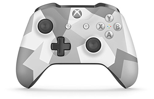 Microsoft XBOX One Wireless Video Gaming Controller, Winter Forces Special Edition (Renewed)