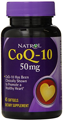 Natrol CoQ 10 50mg Capsules Count
