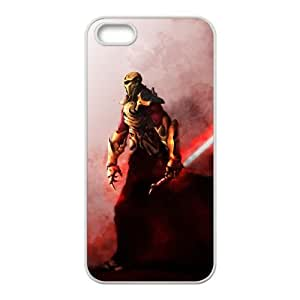 Star Wars Warrior iPhone 5 5s Cell Phone Case White NRI5106480