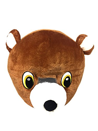 Mascot Head (Brown Bear)