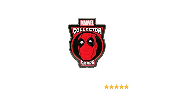 Amazon.com: Marvel Collector Corps Deadpool Collectors Metal Pin- Limited Edition: Toys & Games
