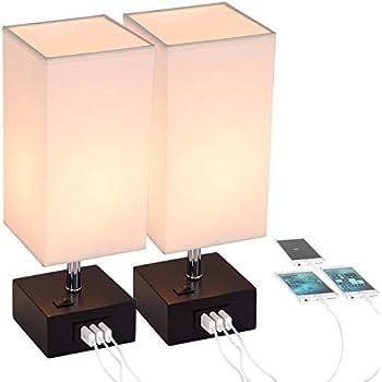 Amazon.com: Lifeholder Lámpara de mesa, lámpara de mesita de ...