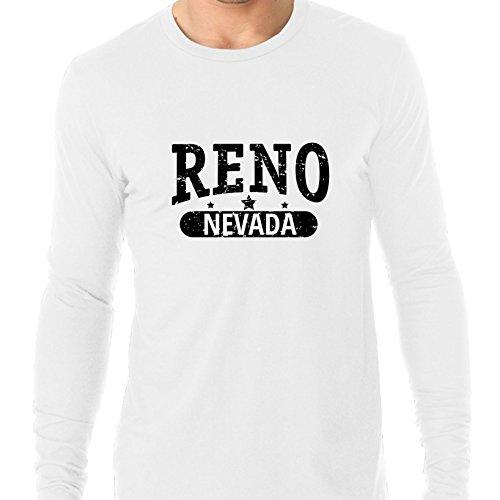 Hollywood Thread Trendy Reno, Nevada With Stars Men's Long Sleeve -