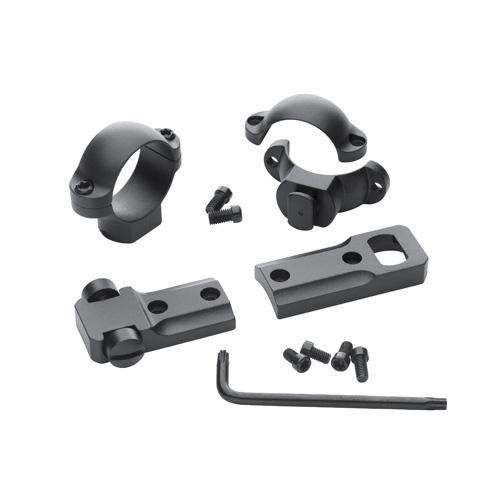 (Leupold STD Remington 700 RVF 2-Piece Base and 1in Medium Rings Set)