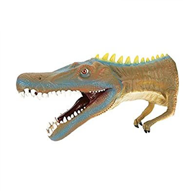 Dinosaur Hand Puppet, Jadpes Soft Dinosaur Head Hand Puppet Kids Child Stories Role Play Interesting Toy Glove for Boys Toys Age 3-6 RC Race Trucks Kids Birthday (Heavy Claw Dragon): Industrial & Scientific
