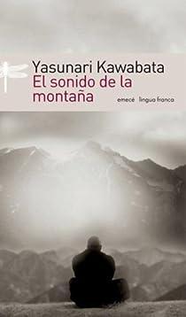 El sonido de la montaña par Kawabata