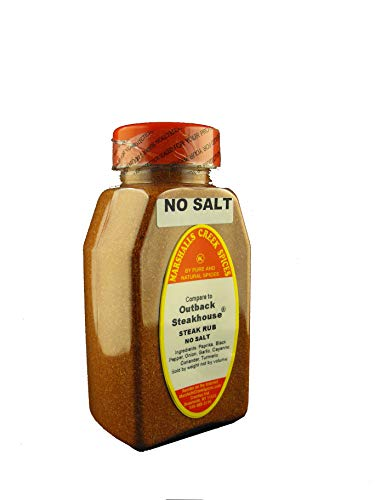 Marshalls Creek Spices Outback Steakhouse Seasoning, No Salt, 11 Ounce - Outback House