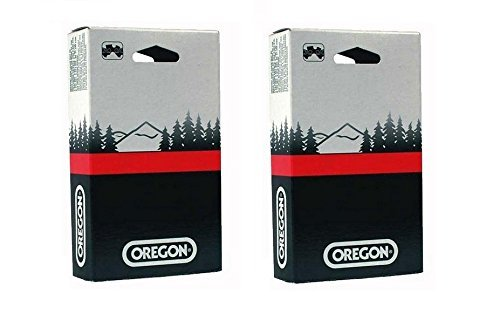 2 Pack, Oregon 90PX052G Low Profile 3/8-Inch Pitch 0.043-Inch Gauge 52-Drive Link Saw Chain, For Echo 90PX52CQ , 14'' Bar by Oregon